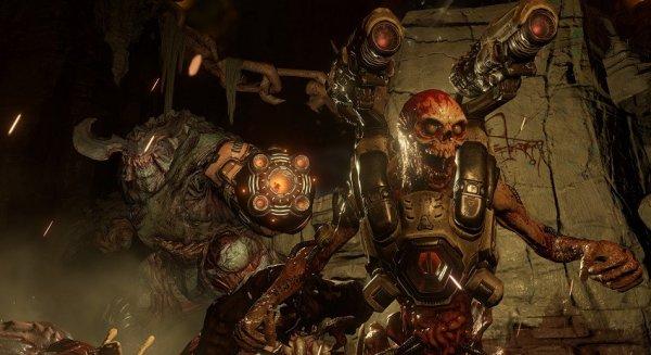 Появился трейлер игры Doom 2