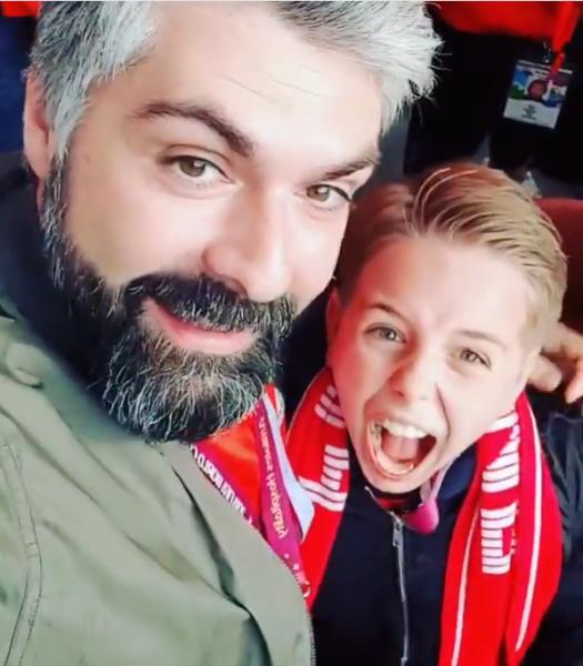 Сын Полины Гагариной удивил искренними эмоциями во время гола сборной РФ