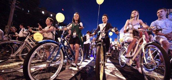 4 августа в Москве пройдет ночной велопарад