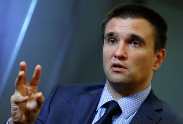 Глава МИД Украины Павел Климкин заявил, что Киев планирует испортить футбольный праздник в России