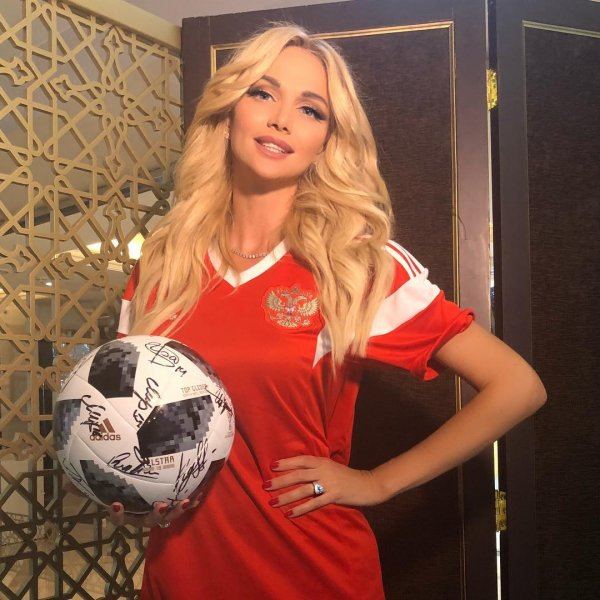 Лопырева попросила Путина посетить матч Россия – Египет