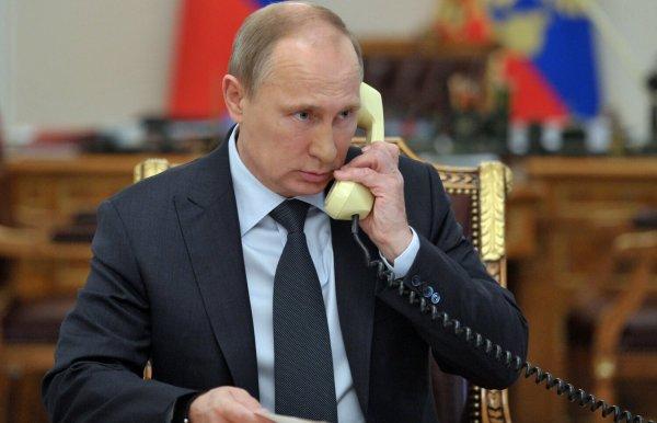 Путин и Порошенко обсудили ситуацию на Украине в телефонном режиме