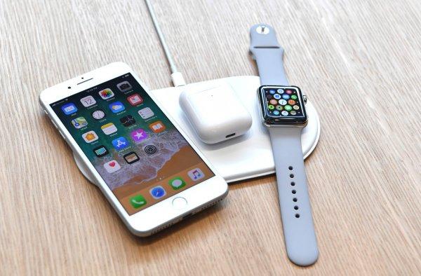 Apple выпустит беспроводное зарядное устройство AirPower уже в сентябре