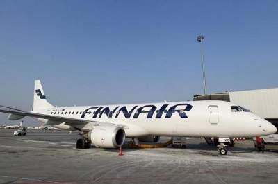 В Хельсинки самолет совершил аварийную посадку