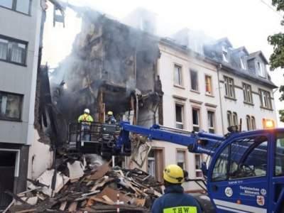 В Германии в жилом доме прогремел взрыв