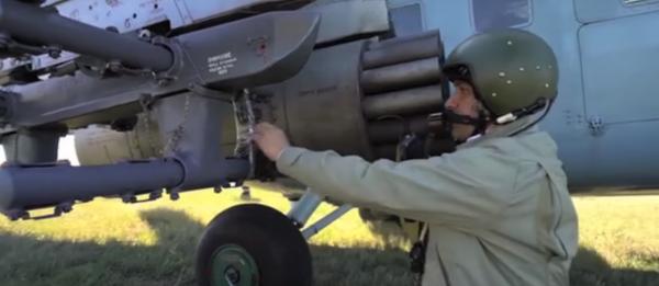 На видео попали испытания новейших российских авиационных ракет С-8ОФП «Бронебойщик»