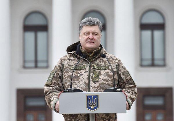 Порошенко готовится к введению военного положения на Украине