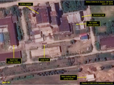 Северная Корея модернизирует ядерный центр