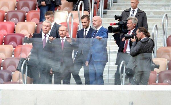 Путин сомневается в своем посещении матча Россия -  Испания