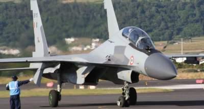 В Индии разбился российский истребитель