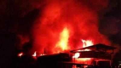 В Кении горел крупный рынок: 15 погибших