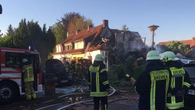 В Германии взорвался жилой дом, есть жертвы