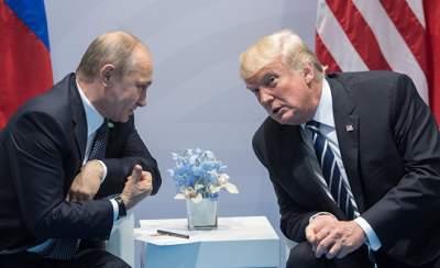 Названы дата и место встречи Путина и Трампа