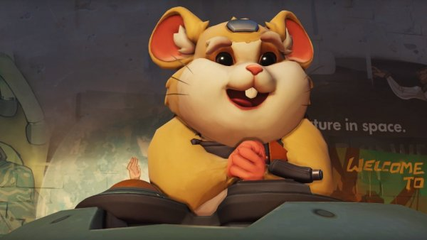 Overwatch представили нового героя – хомяка Тарана