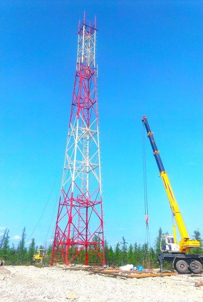 В Тосненском районе снесли незаконно установленную вышку «Теле-2»