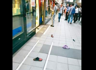 В тайваньском метро произошла давка из-за крысы