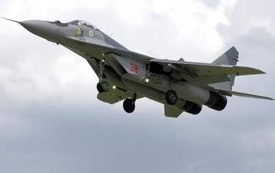 В Польше упал боевой истребитель МиГ-29
