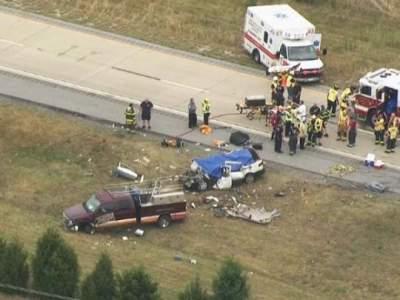 Жуткая авария в США: погибли четыре ребенка и взрослый