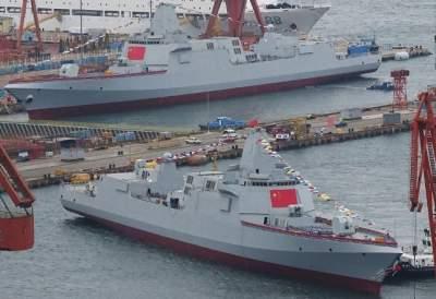 В Китае появились эсминцы с инновационным вооружением