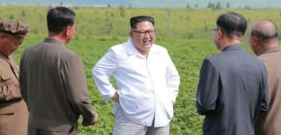 Ким Чен Ын поехал проверять картошку вместо встречи с госсекретарем США