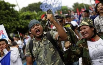 Массовые беспорядки в Никарагуа: убиты сотни человек
