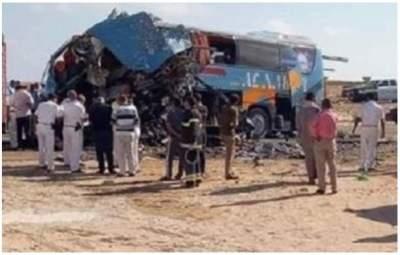 Пассажирский автобус попал в ДТП в Египте: 10 погибших