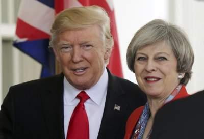 Трамп и Мэй анонсировали крупную экономическую сделку