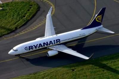 В Германии совершил экстренную посадку самолет Ryanair