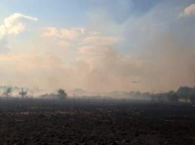 Около крупнейшего аэропорта Лондона произошел большой пожар