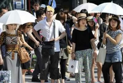 Жара в Японии: пять погибших, полторы тысячи госпитализированы