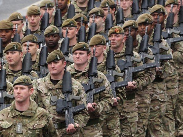 Минобороны Великобритании: Британская армия безнадежно отстает от российской и китайской