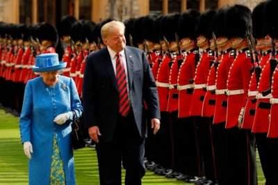 Британские принцы отказались посещать встречу королевы с Трампом