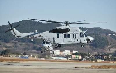 В Южной Корее в результате крушения военного вертолета погибли пять человек