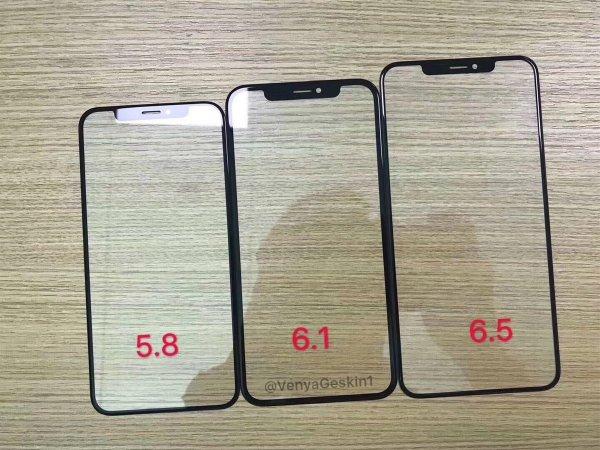 В Сети опубликовали фото будущих экранов к iPhone