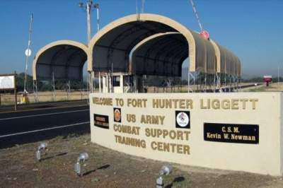 На военной базе в США произошло ЧП с вертолетом и палаткой