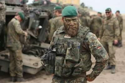 В немецкой армии могут начать набор иностранцев