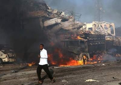 В Сомали произошел мощный взрыв