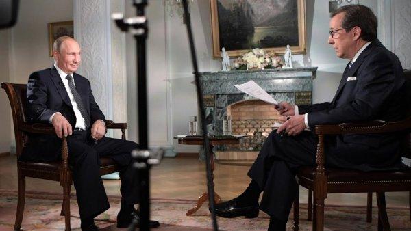 После интервью с Путиным Крис Уоллес решил провести отпуск в России