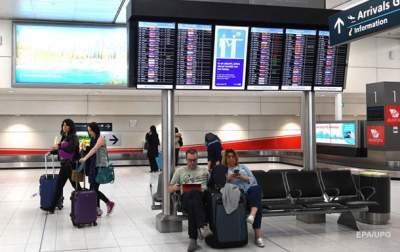 В аэропорту Барселоны застряла группа украинцев
