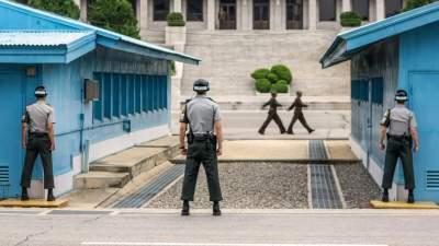 Южная Корея сокращает количество военных на границе с КНДР