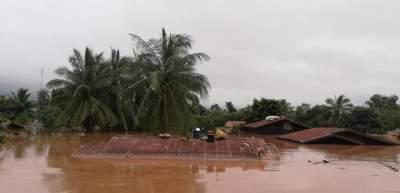 В Лаосе прорвало дамбу: есть погибшие