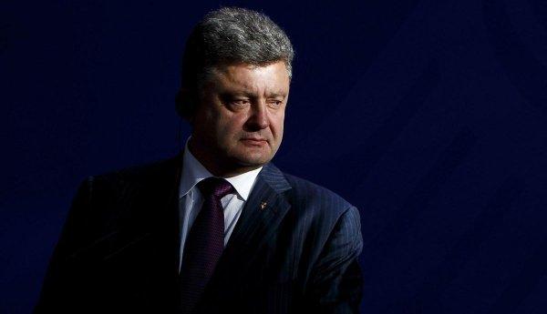 Президент Украины Петр Порошенко попытался дать взятку Богу