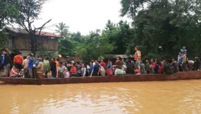 Прорыв дамбы в Лаосе: число жертв увеличилось