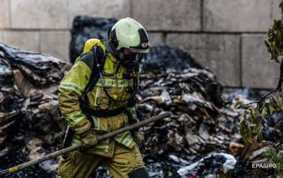 В Лондоне горит жилой дом: идет эвакуация