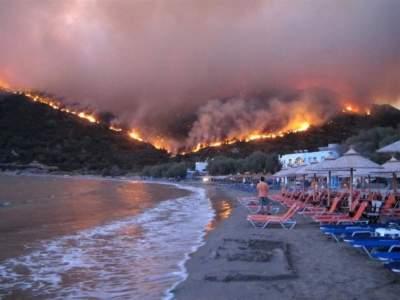 В Греции нашли причину сильных пожаров