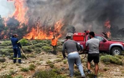 В Греции сообщили о новых жертвах смертоносного пожара