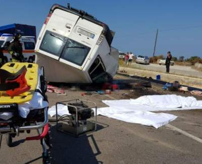 Авария с микроавтобусом в Италии: погибло 12 человек