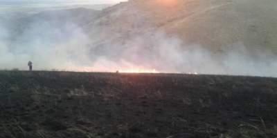 В Кыргызстане ввели чрезвычайный режим из-за пожара