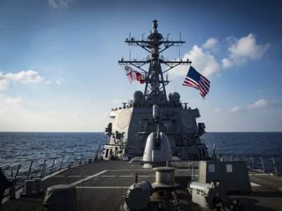 Корабль США вошел в акваторию Черного моря