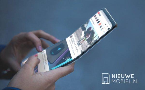 В Интернете опубликовали снимки складного смартфона Samsung